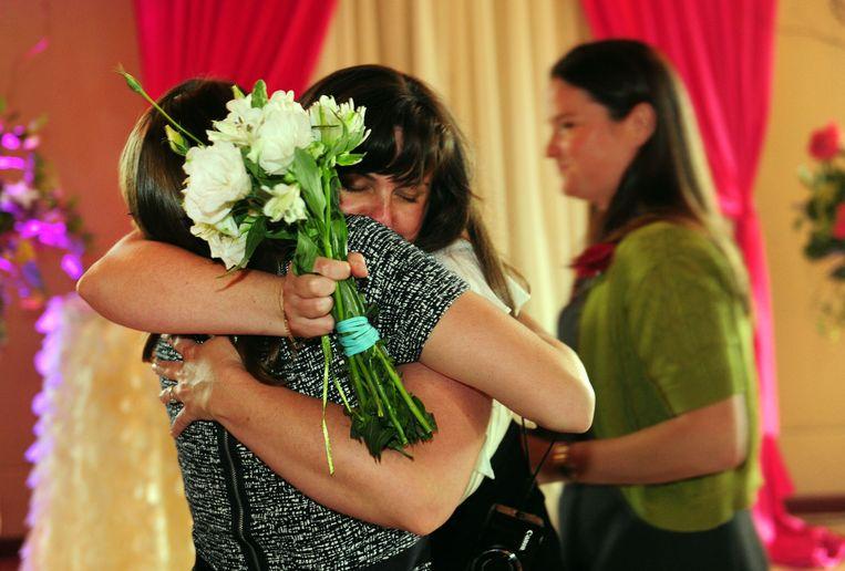 Julia Fraser en Jessica Rohrbacher.