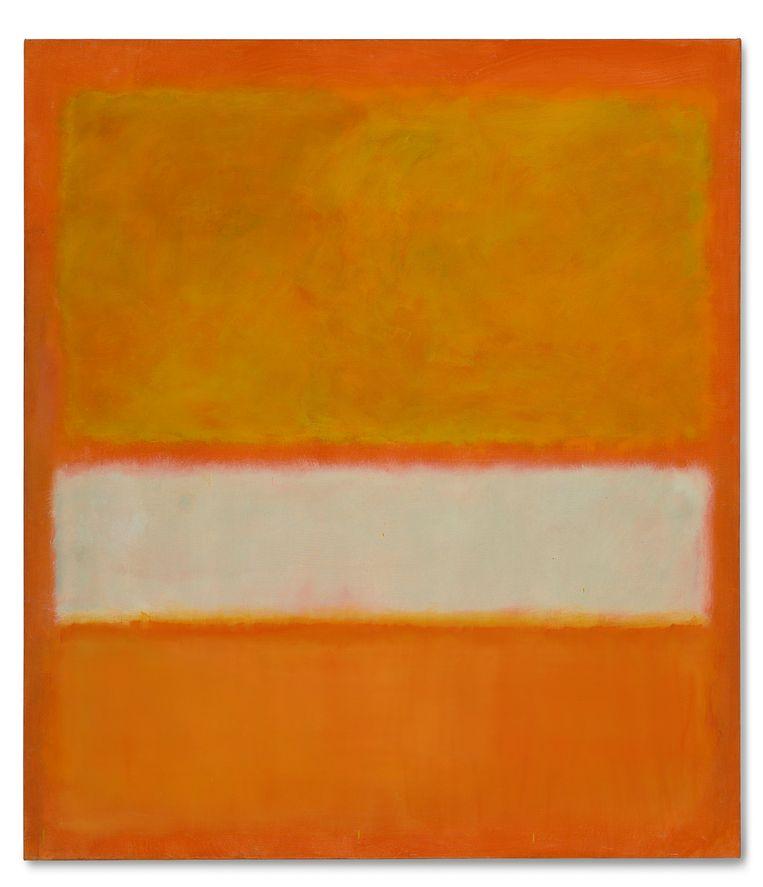 'Untitled (N° 11)', een ander werk van Mark Rothko. Beeld AP