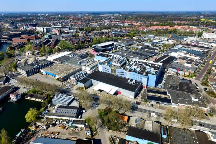 Het complex van Roto Smeets in Deventer. Het bedrijf is sinds 1931 gevestigd in Deventer.