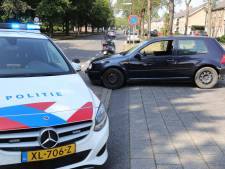 Botsing tussen auto en scooter in Waalwijk