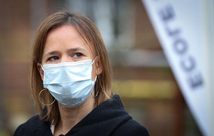 Caroline Désir, ministre de l'Éducation (PS).