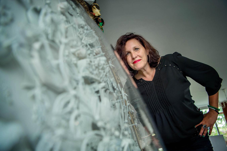 Kunstenares Carina Wagenaar uit Beuningen.