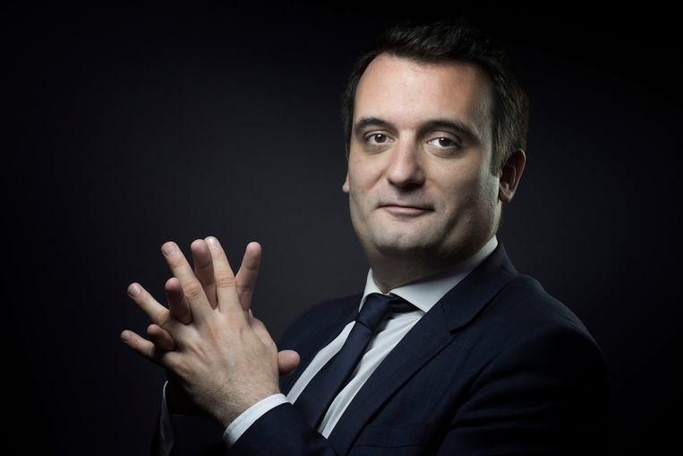 Florian Philippot Beeld AFP