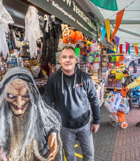 Nieuwe lockdown leidt tot stress op Haagse markt: 'Ik ben ook maar een mens'