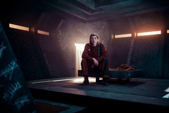 Jodie Whittaker in 'Doctor Who'.