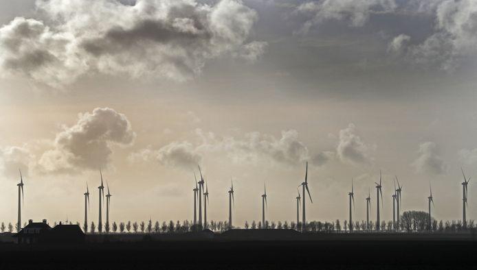 Windpark De Pals is gepland aan de A67 (foto ter illustratie)