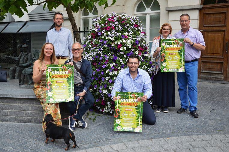 De handelaars in Ninove organiseren de Topdagen in de binnenstad onder de noemer 'Ninove Zomert'.