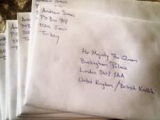 Britse vorstin stuurt na zestig jaar kerstkaart terug