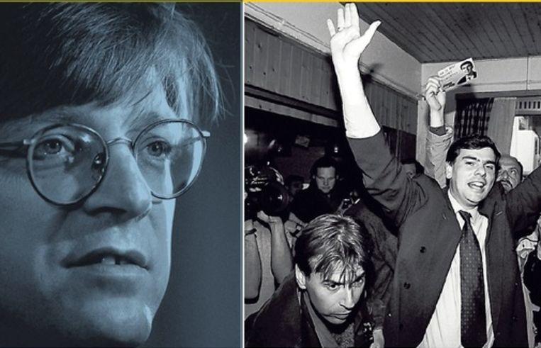 Decennia later slaagden noch Guy Verhofstadt, noch Filip Dewinter erin de Vlaams-conservatieve krachten te bundelen. Beeld UNKNOWN