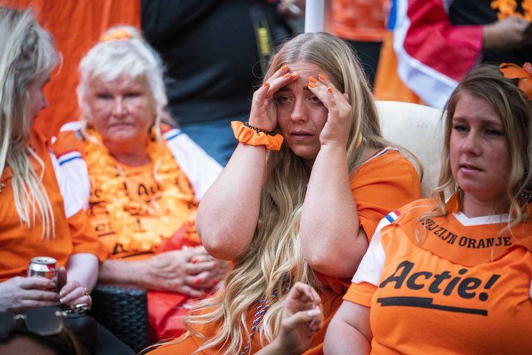Vanavond speelt het Nederlands elftal om 21.00 uur tegen Oostenrijk en zal Sam Planting de wedstrijd duiden voor de Volkskrant. Beeld EPA