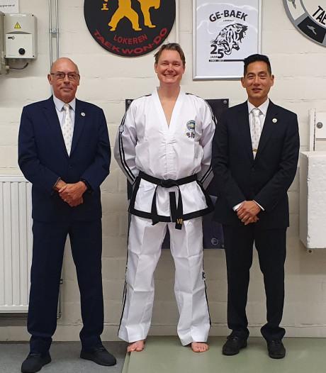 Martijn Lindeboom uit Borne taekwondo-master