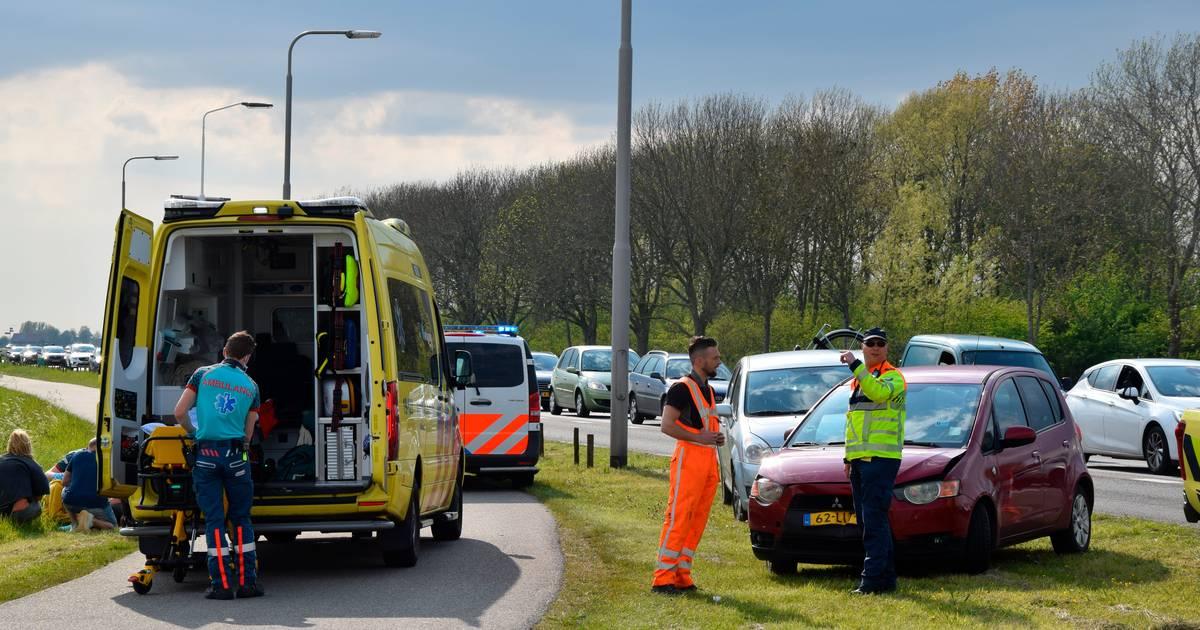 Twee gewonden bij botsing in Nieuwerkerk.