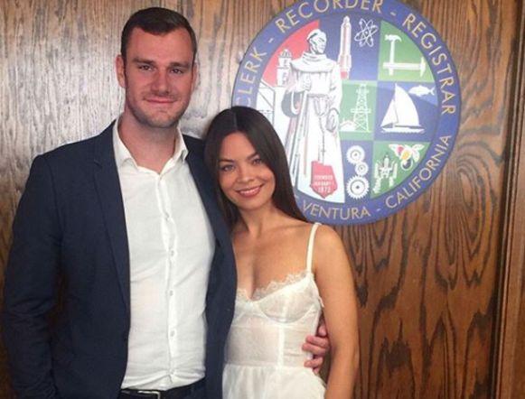 De twee zijn nu eindelijk getrouwd.