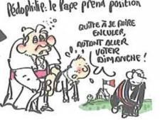 Plantu jugé pour un dessin de Benoît XVI sodomisant un enfant