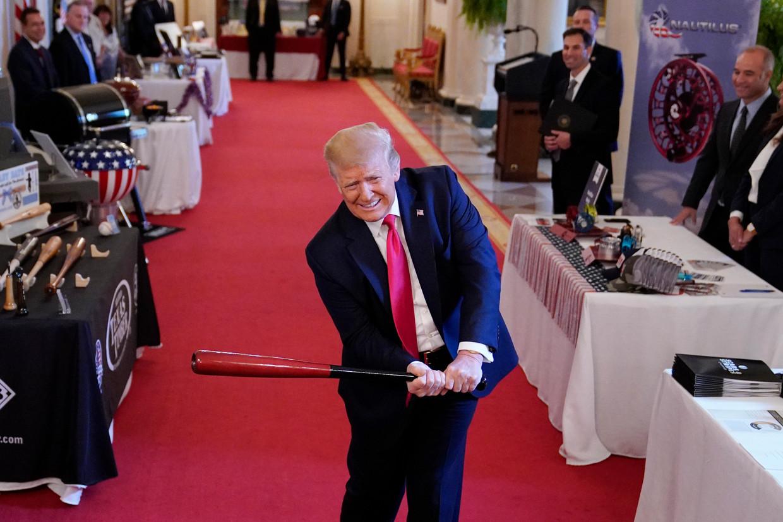 President Donald Trump. Beeld AP