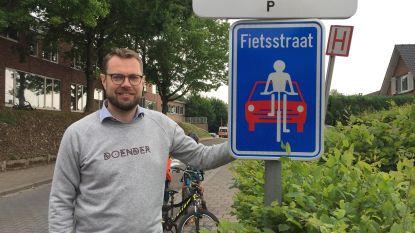 Vijf straten rond basisschool Het Groene Dal voortaan fietsstraten