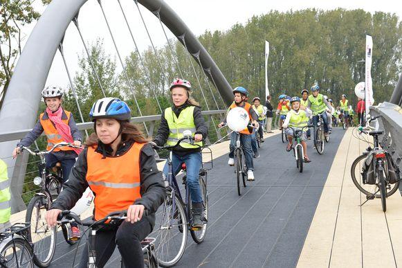 De fietsbrug ter hoogte van het Bels Lijntje werd in 2012 ingefietst.  Het verbond het Bels Lijntje weer met de Turnhoutse binnenstad.