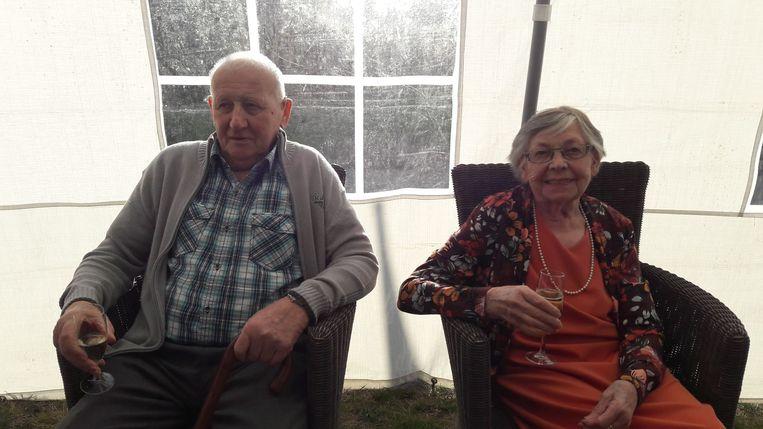 Cecile en Andre zijn al zestig jaar gelukkig getrouwd.