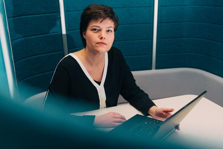 Cathy Geerts, hr-vrouw bij SD Worx.  Beeld Illias Teirlinck