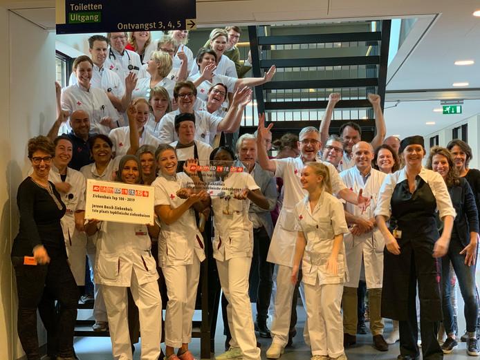Het JBZ werd voor de tweede keer op rij het beste topklinisch ziekenhuis van Nederland.