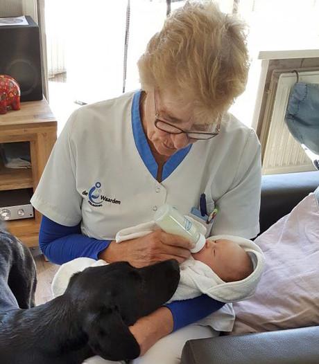 Kraamverzorgster op bezoek bij bijna 6.000 baby'tjes