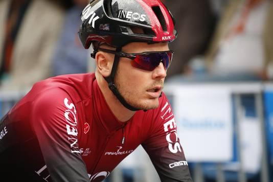 Van Baarle in het shirt van zijn werkgever Team Ineos.