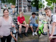 Steeds meer groene deelscooters in Twente: 'Mensen halen er van alles mee uit'