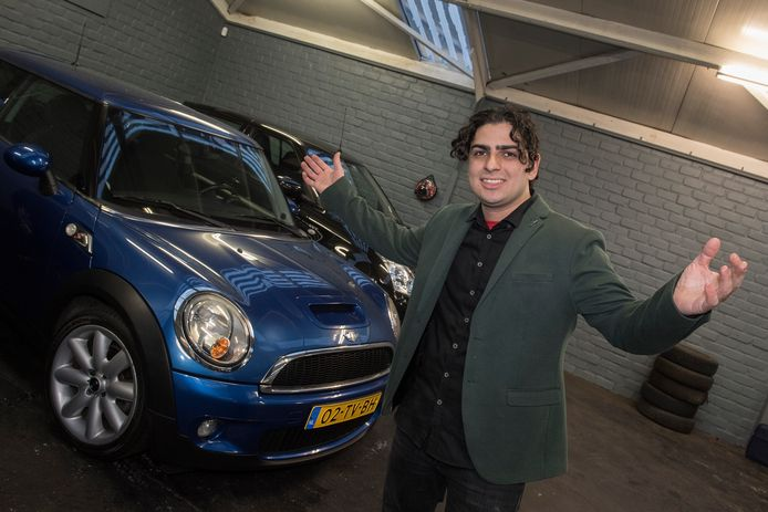 Autohandelaar Cem Degirmencioglu.