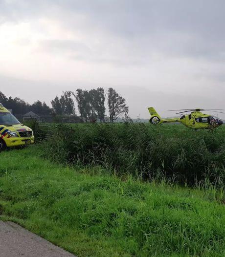 Bestuurder raakt gewond na val van snorfiets in Breukelen