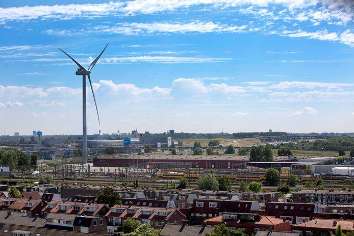 De grote windmolen bij Leidschendam