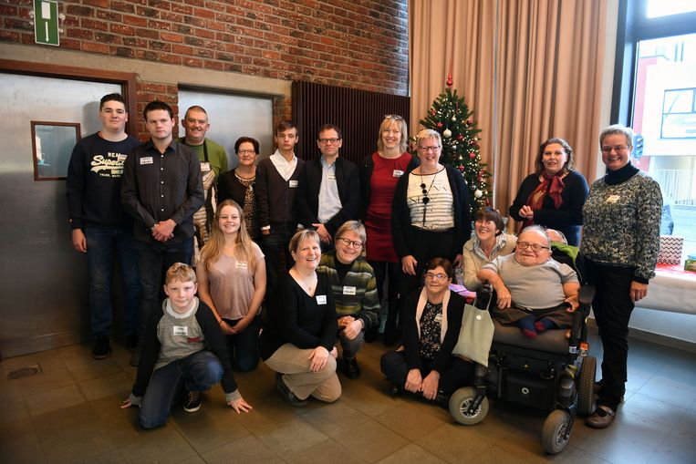 Kerstvriendenmaal in Keerbergen, voor alleenstaanden en gezinnen die niet in de mogelijkheid zijn om die dag zelf een kerstdiner te organiseren.