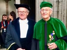 Utrechtse astronoom Kees de Jager is 100, maar de sterrenhemel kan hij niet meer zien