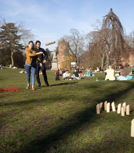 Binnen een week een nieuw seizoen: zoek de verschillen in het Kronenburgerpark