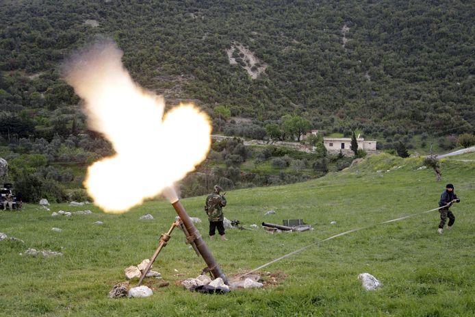 De strijd om de Al Ghab vlakte bij Hama in Syrië waaraan Al Y. zou hebben meegedaan.