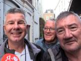 Vitesse en Spurs fans drinken samen in Arnhem