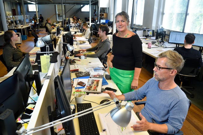 Maartje Luisman geeft samen met Esther Vlaswinkel en Marjon Mors leiding aan SVP.