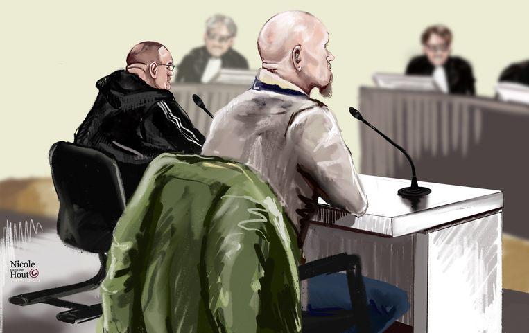 Twee mannen uit Helmond en Noordwijkerhout,  verdacht van de moord op Amsterdammer Patrick van Dillenburg , worden vrijgesproken. Beeld Hollandse Hoogte / Nicole van den Hout
