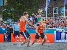 Beachduo Varenhorst en Bouter uit elkaar