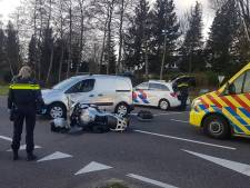 Motorrijder gewond na botsing met automobilist in Baarn