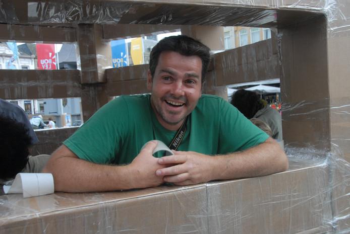 De uit Marseille afkomstige ontwerper Olivier Grossetête is tevreden over het eindresultaat.