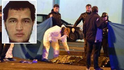 Anis Amri doodgeschoten in Milaan. Net voor zijn dood riep hij 'Allahu Akbar'
