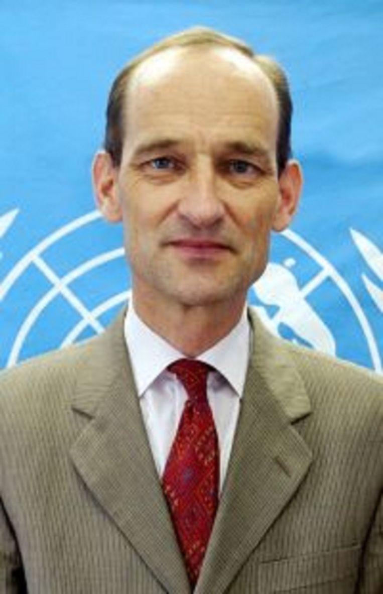 Johannes van der Klaauw, UNOCHA-voorman in Jemen. Beeld null