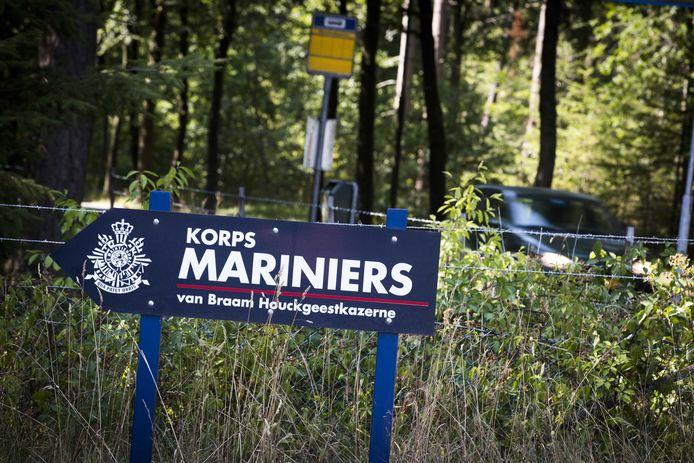 De huidige marinierskazerne in Doorn. Verhuizing naar Vlissingen is na acht jaar van de baan.