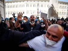 Manifestation contre les mesures anti-Covid en Italie: un policier blessé