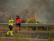 Brandweerman omgekomen bij bestrijding Spaanse bosbranden, duizend mensen geëvacueerd