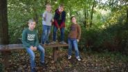 Sluikstort blijkt kamp van buurtkinderen