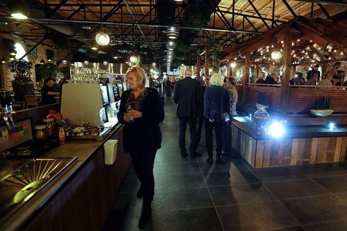 Het vorig jaar geopende restaurant Watertuin in Bergen op Zoom betekende een forse toename van de horeca-capaciteit.
