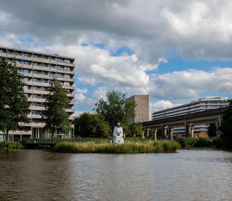 Amsterdam-Zuidoost is een van de zestien meest kwetsbare stedelijke gebieden van Nederland. Beeld Nosh Neneh