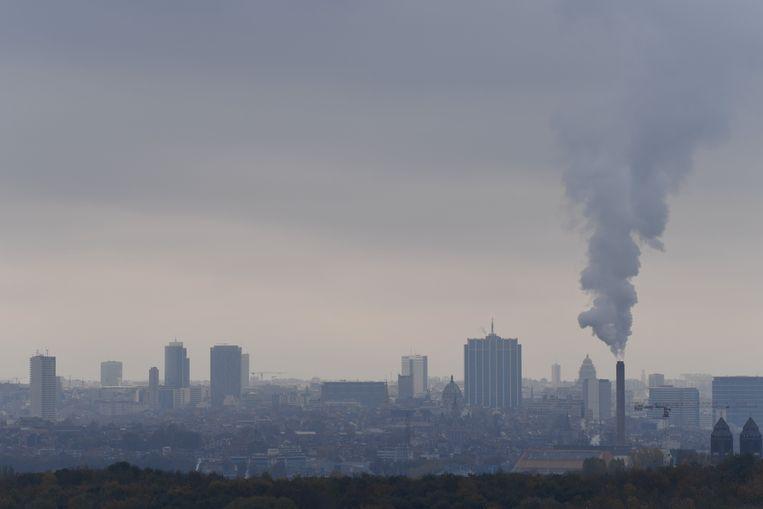 'Brussel-liefde is verzet tegen stadshaat. Het is in feite niet veel meer dan dat, want het materiële voorwerp van die liefde is lelijk en stinkt.' Beeld Photo News