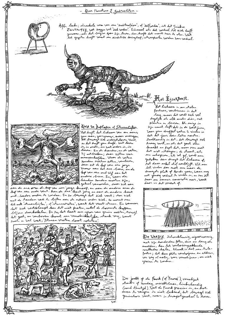 Boeken 31/10 Uit: 'Handboek voor de patafysicus'. Beeld rv